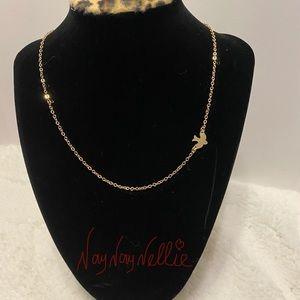 Dainty dove necklace